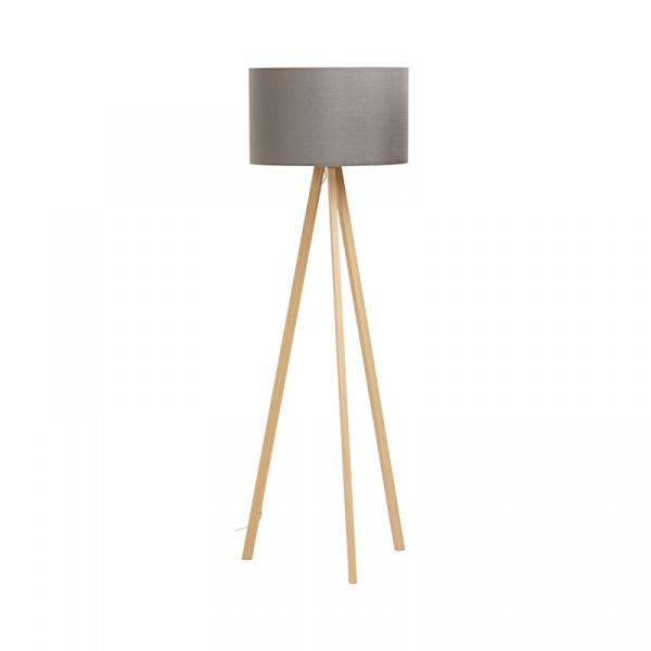 Lampa podłogowa Trivet Kokoon Design szary FL00350GRNA