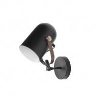 Lampa ścienna czarna TYRIA