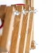 Lampa ścienna harmonijkowa Neli Design dąb czerwona NLD-001