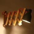 Lampa ścienna harmonijkowa Neli Design dąb czerwonaLampa ścienna harmonijkowa Neli Design dąb czerwona NLD-001