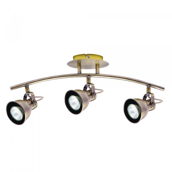 Lampa ścienna LightPrestige Bolzano 3 elementy patyna LP-8067/3W patyna