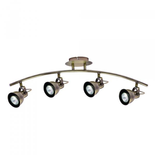 Lampa ścienna LightPrestige Bolzano 4 elementy patyna LP-8067/4W patyna