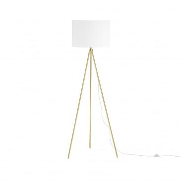 Lampa stojąca złoto-biała 148 cm VISTULA