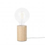 Lampa stołowa drewniana Aloisio BLmeble