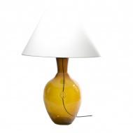 Lampa stołowa Gie El miodowy