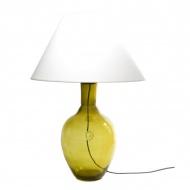 Lampa stołowa Gie El oliwkowy