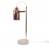 Lampa stołowa miedziana 37 cm Innamorato BLmeble