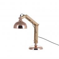 Lampa stołowa miedziana 53 cm Silvestri BLmeble