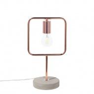 Lampa stołowa miedziana Miracola BLmeble