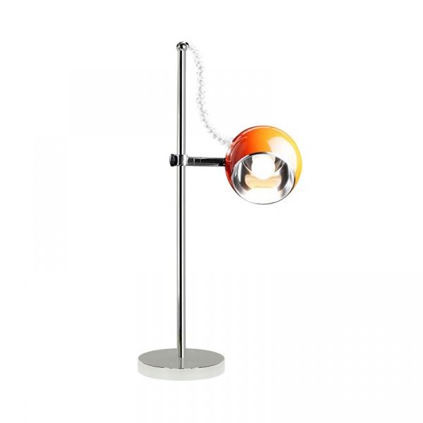 Lampa stołowa Moon Kokoon Design pomarańczowy TL00030OR