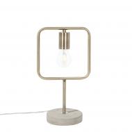 Lampa stołowa mosiężna Miracola BLmeble
