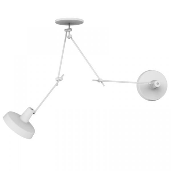 Lampa sufitowa 2 GrupaProducts Arigato biała AR-C2-W