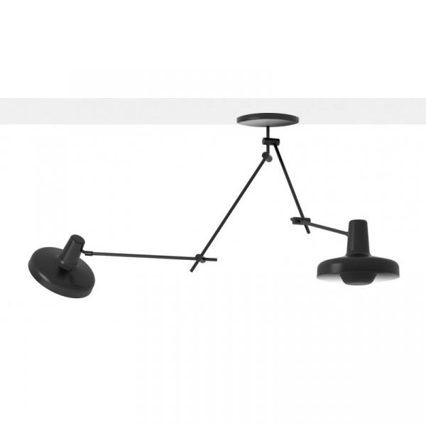 Lampa sufitowa 2 GrupaProducts Arigato czarna AR-C2