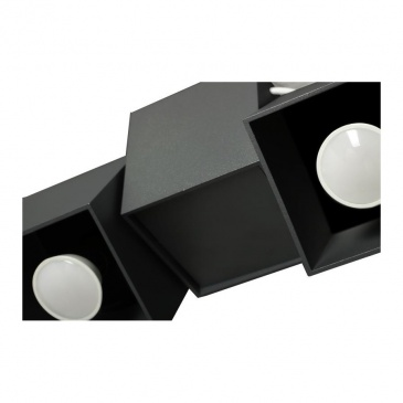 Lampa sufitowa Kraft 2B czarna