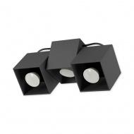 Lampa sufitowa Kraft 3 czarna