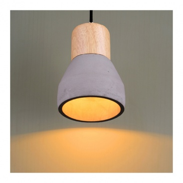 Lampa wisząca 12cm Step into design Concrete szary beton