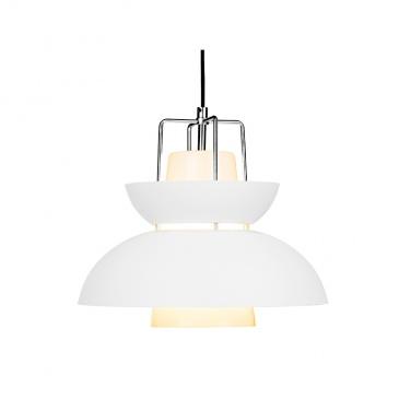 Lampa wisząca 32x36 cm ALTAVOLA DESIGN Scandinavian biała
