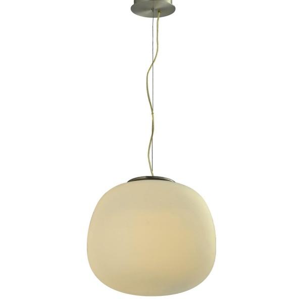 Lampa wisząca 38x24,5 cm Light Prestige Piza biała LP-3147/1P L