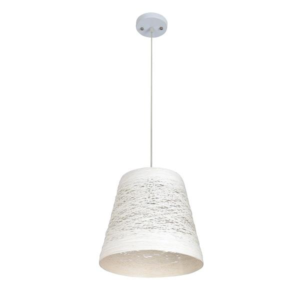 Lampa wisząca 80x30cm Lampex Flora A biała 311/A