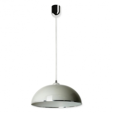 Lampa wisząca Anja D Lampex srebrno-szara 678/D
