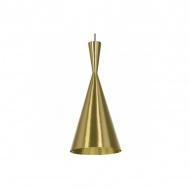 Lampa wisząca BET SHADE TALL złota - środek złoty