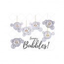 Lampa wisząca BUBBLES -14 LED złota 3000K