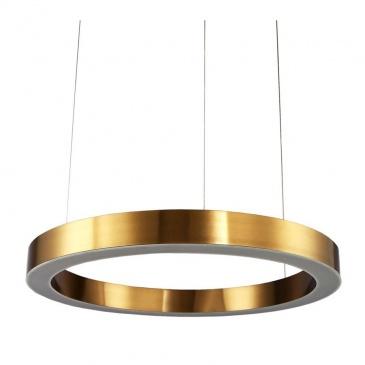 Lampa wisząca CIRCLE 120 ledowa 120 cm mosiądz