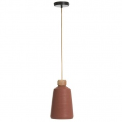 Lampa wisząca Conic Cement Terracota