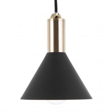 Lampa wisząca czarna LEREZ