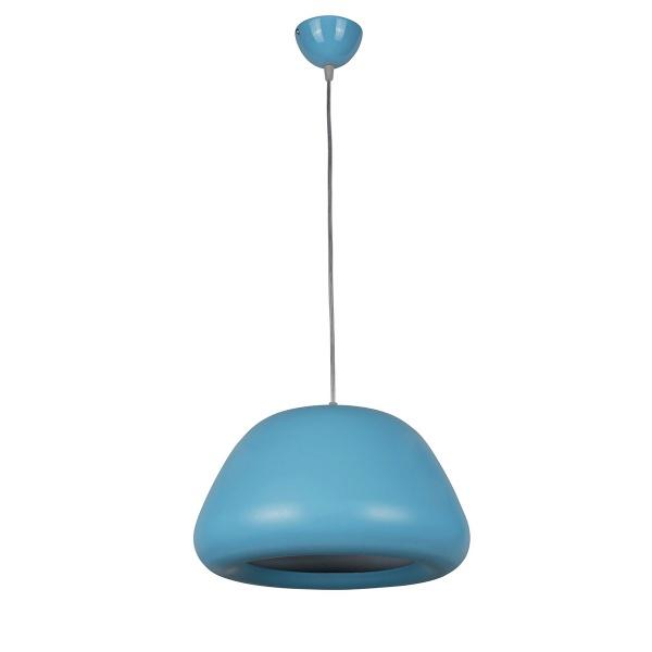 Lampa wisząca Delta 1 Lampex niebieska 426/1 NIE