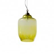 Lampa wisząca duża Gie El oliwkowy