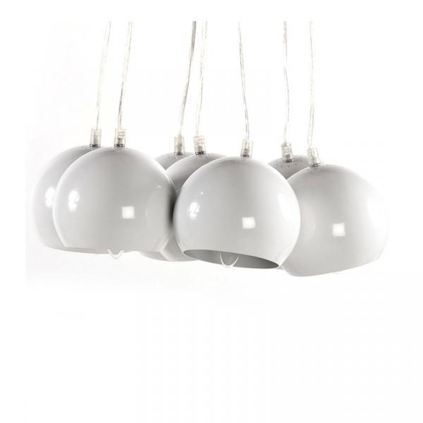 Lampa wisząca Eklektik Kokoon Design biały HL00290WH