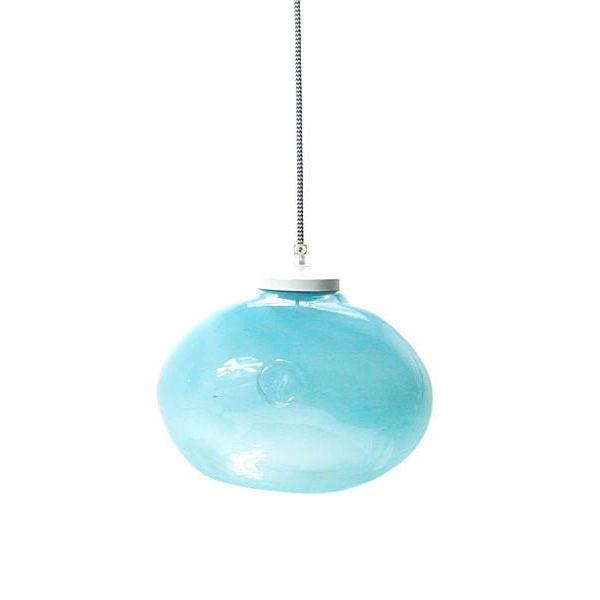 Lampa wisząca Gie El pastelowy turkus LGH0251