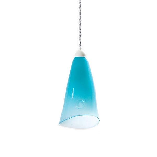 Lampa wisząca Gie El pastelowy turkus LGH0261