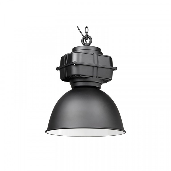 Lampa wisząca Industrial Kokoon Design czarny HL00420BL