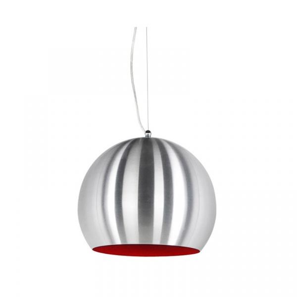 Lampa wisząca Jelly Kokoon Design srebrno-czerwony HL00210BS