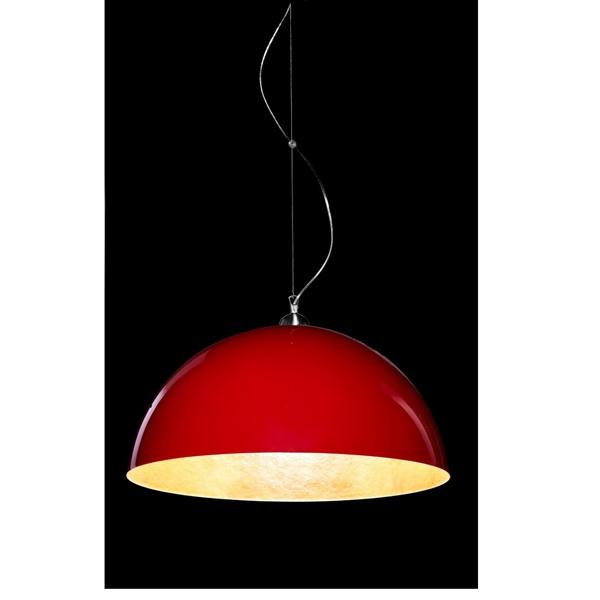 Lampa wisząca Luminato 70cm czerwona 2200000014146