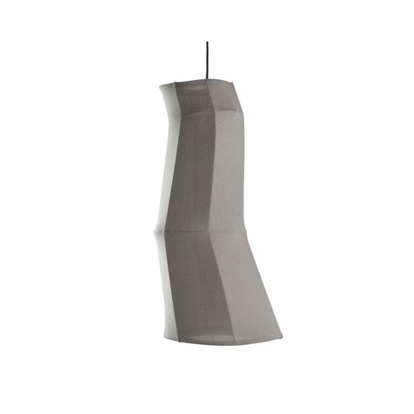 Lampa wisząca mała Fabric Gie El Botanica szary LGH0472