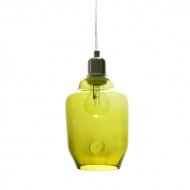 Lampa wisząca mała Gie El oliwkowy