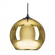 Lampa wisząca MIRROR GLOW - L złota  40 cm