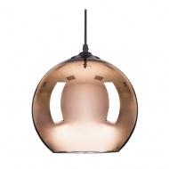 Lampa wisząca MIRROR GLOW - M miedziana 30cm