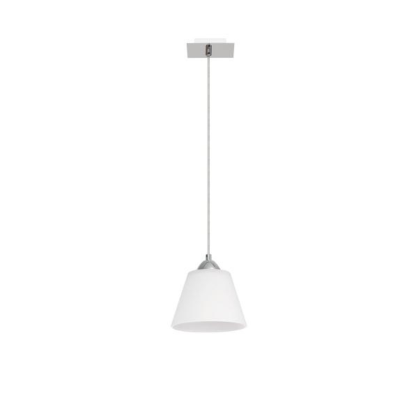 Lampa wisząca Nevia 1 Lampex biała 550/1