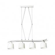 Lampa wisząca Olimp 4 biała