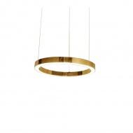 Lampa wisząca RING 40 złota - LED, stal