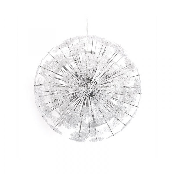 Lampa wisząca Snowflake Kokoon Design chrom HL00220CH