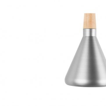 Lampa wisząca srebrna ARDA