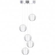 Lampa wisząca STARLIGHT-5 kryształowa 30 cm