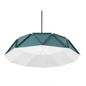 Lampa wisząca turkusowa SENIA