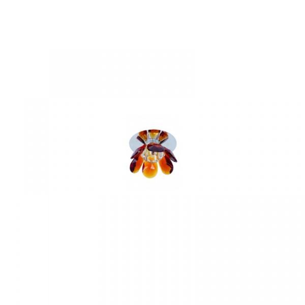 Lampa wisząca Wenus oczko bursztyn LP-10221/H28 L bursz