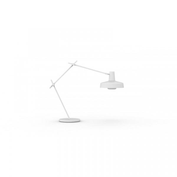 Lampka biurkowa Arigato GrupaProducts biała AR-T-W